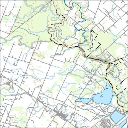 Usgs Topo Map Vector Data Vector 4738 Boling Texas