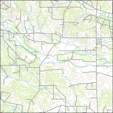 USGS Combined Vector for San Jose, Texas 20160526 7.5 x 7.5 minute ...