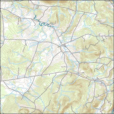 USGS Topo Map Vector Data (Vector) 31997 Newport Center, Vermont ...