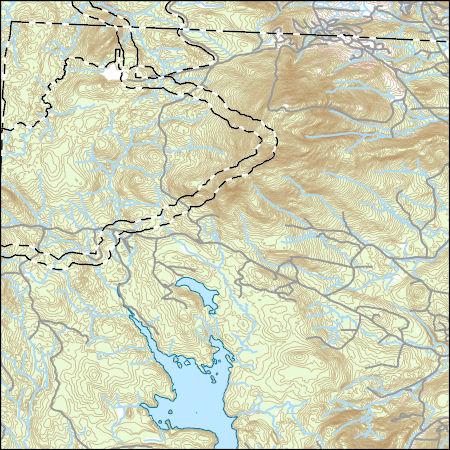 Usgs Topo Map Vector Data Vector 43445 Stratton Mountain Vermont