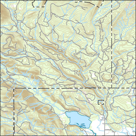 Usgs Topo Map Vector Data Vector 45749 Trout Lake Washington