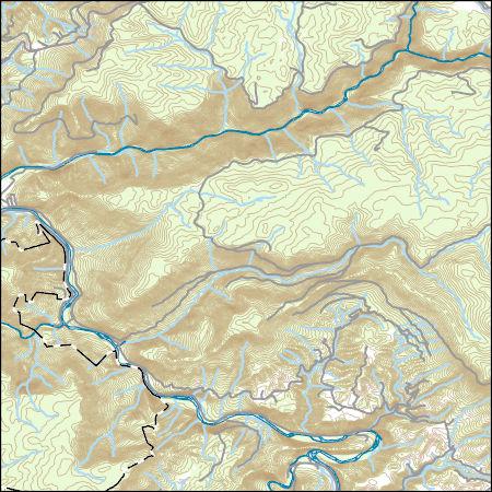USGS Topo Map Vector Data (Vector) 30992 Mozark Mountain