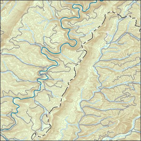 USGS Topo Map Vector Data (Vector) 49061 Wildell, West