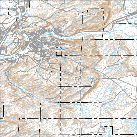 Rock Springs Wyoming Map.Usgs Topo Map Vector Data Vector 38275 Rock Springs Wyoming
